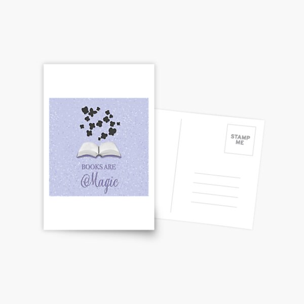 The magic of books Postcard