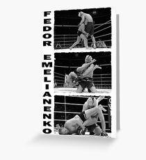 Fedor Emelianenko Greeting Card