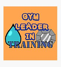 Gym Leader Photographic Print