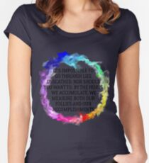 Follies And Accomplishments Women's Fitted Scoop T-Shirt