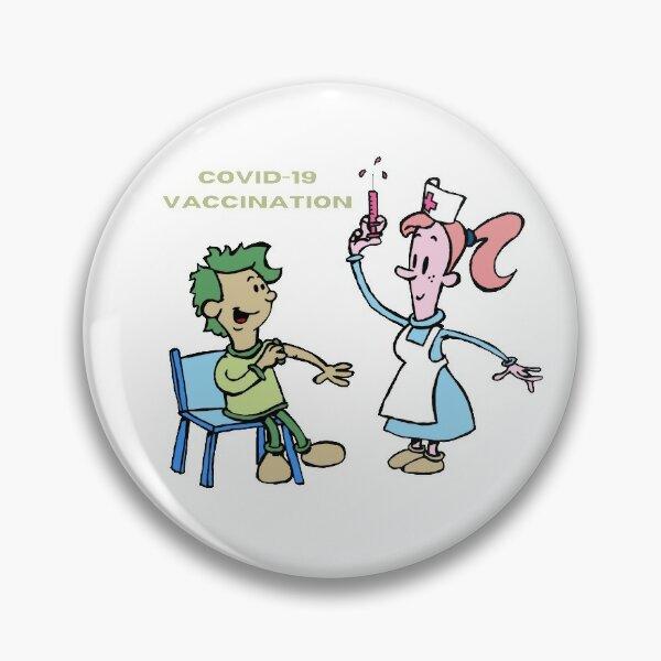 Covid-19 vaccination Pin