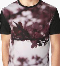 Japanese Cherry Tree Graphic T-Shirt