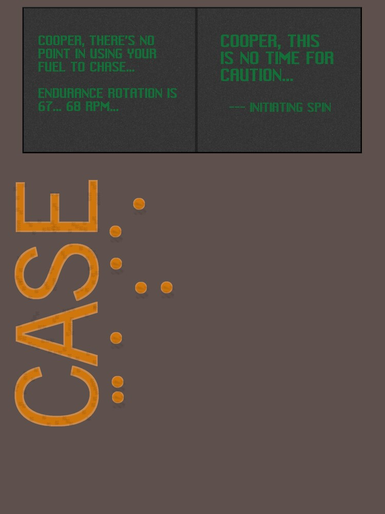 CASE: No Time for Caution by ComeOnTars