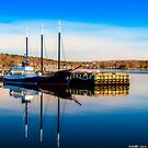 Boats at Bedford Waterfront by kenmo