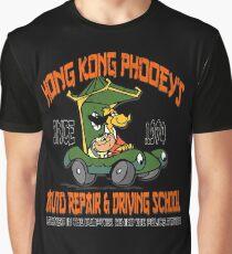 Hong Kong Phooey's Auto Repair & Driving School Graphic T-Shirt