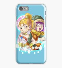 Marle and Lucca iPhone Case/Skin