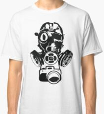 Urban Exploration Gas Mask Photography Classic T-Shirt
