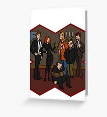 Mystery Files Greeting Card