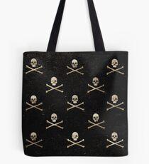 Skulls & Crossbones - Square Tote Bag