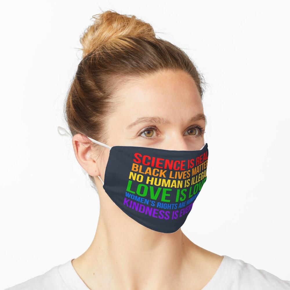 Democratic TRUTH!  Mask