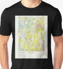 USGS TOPO Map New Jersey NJ Caldwell 254218 1947 24000 Unisex T-Shirt