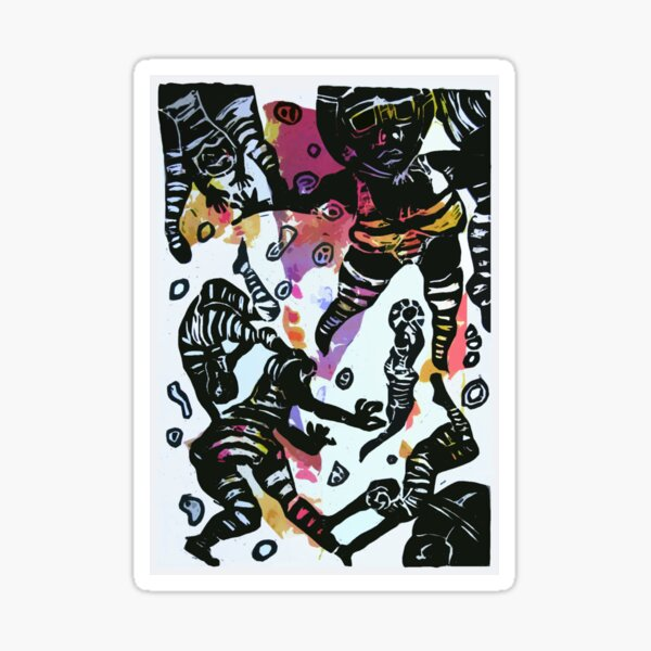 HULLABALLOO Sticker