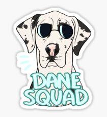 DANE SQUAD (harlequin) Sticker
