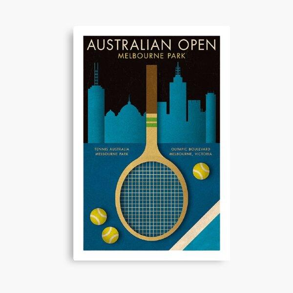 Australian OPEN - Melbourne Tennis Canvas Print