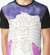 Mask of Carnevale Graphic T-Shirt