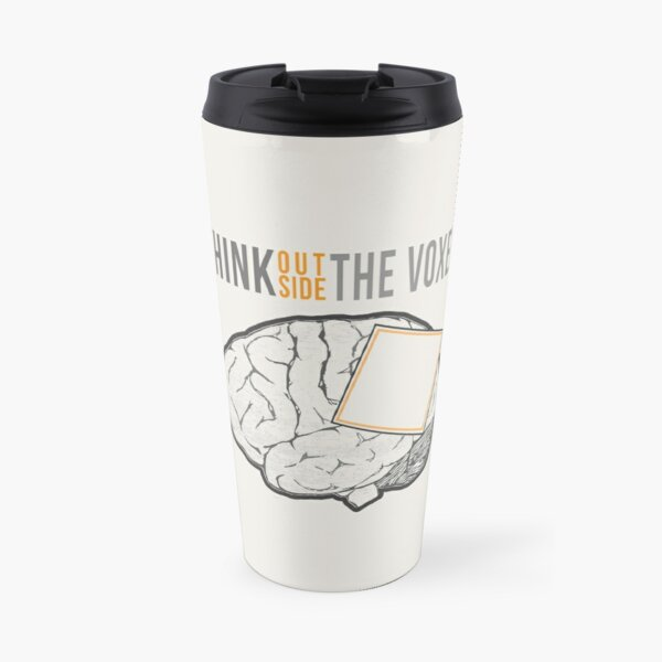 Think Outside the Voxel Travel Mug