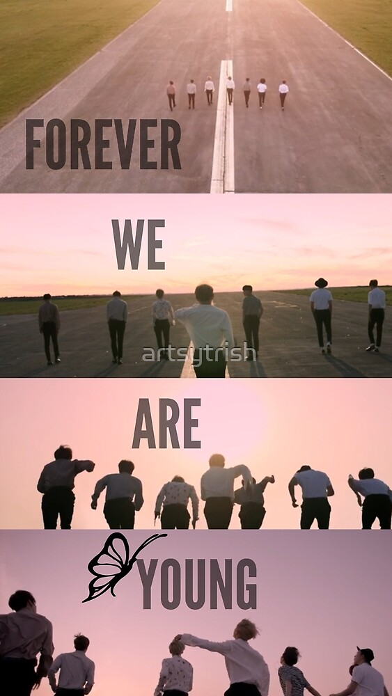 BTS Forever We Are Young by artsytrish