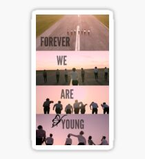 BTS Forever We Are Young Sticker