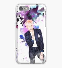 BTS-Rap Monster Purple iPhone Case/Skin