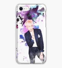 BTS-Rap Monster Purple iPhone Case/Skin