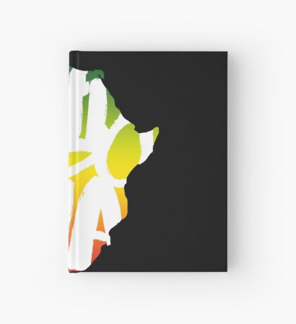Ethiopia in Africa - White Hardcover Journal