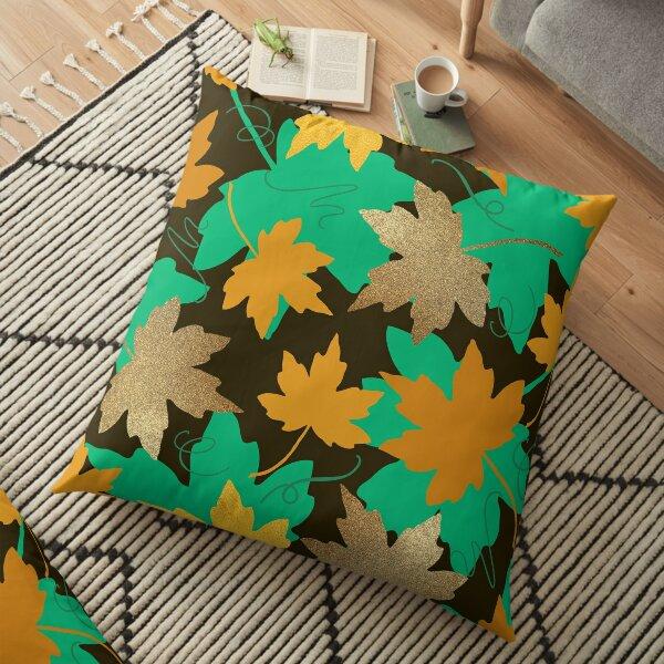 Solid Gold Floor Pillow
