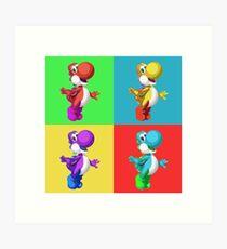 Yoshi ala Warhol Kunstdruck