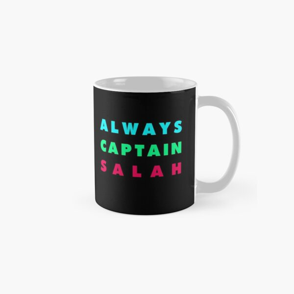 Always Captain Salah FPL Fantasy Premier League Classic Mug