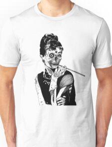 zombies audrey hepburn evil dead zombie Unisex T-Shirt