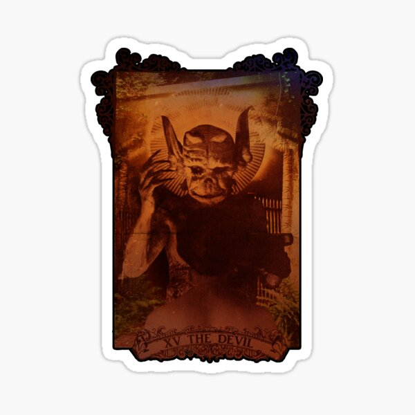 XV THE DEVIL Sticker