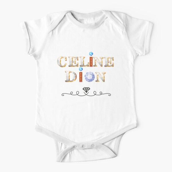 Celine Dion Diamanten Baby Body Kurzarm