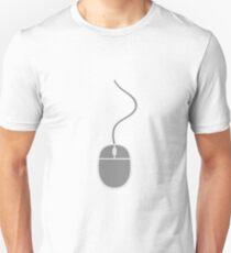 control mouse click computer cable pc computer online computer mouse T-Shirt