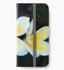 Plumeria iPhone Wallet