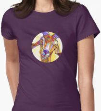 Goat drawing - 2011 Women's Fitted T-Shirt
