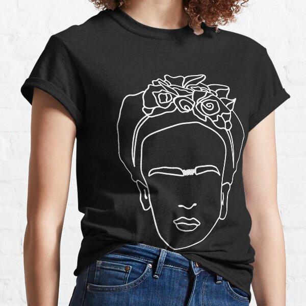 Frida kahlo face Classic T-Shirt