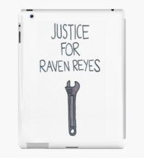 Gerechtigkeit für Raven Reyes iPad-Hülle & Klebefolie