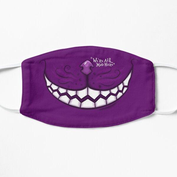 Cheshire Cat Smile Flat Mask
