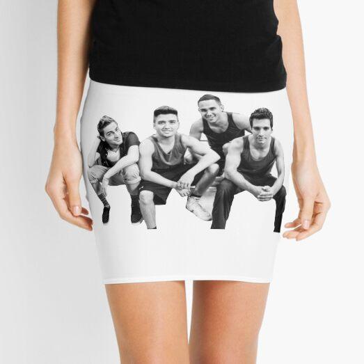 Big Time Rush Group Mini Skirt