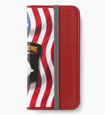 101st Airborne - American Flag iPhone Wallet/Case/Skin