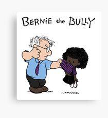 Bernie the Bully Canvas Print