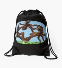 Ants Eye View Drawstring Bag