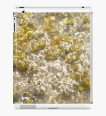 Rocks under water iPad Case/Skin