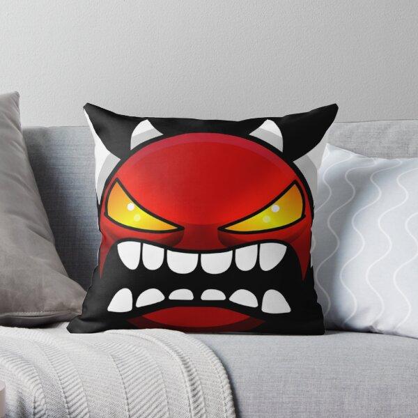 Geometry dash Extreme demon Throw Pillow