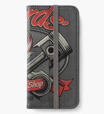 T-Birds' Speed Shop iPhone Wallet/Case/Skin