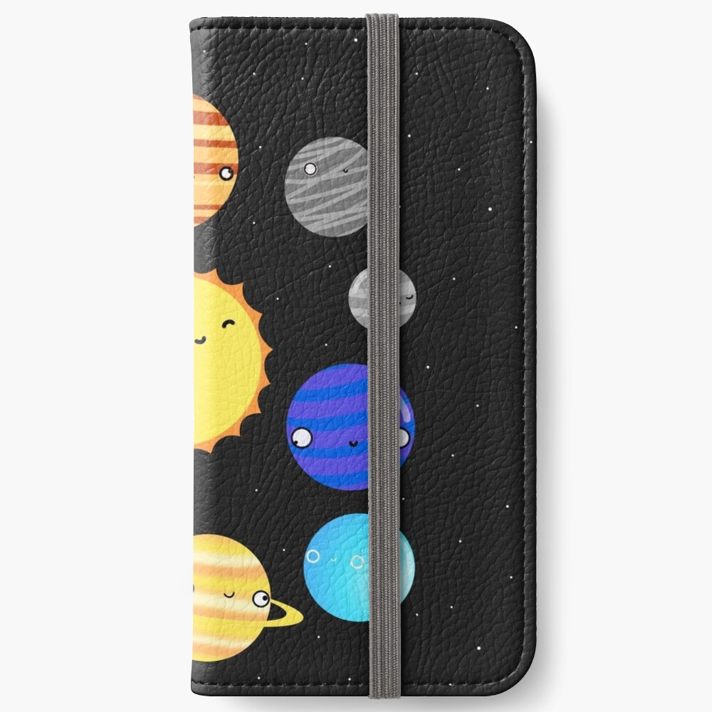 The Solar System iPhone Wallet