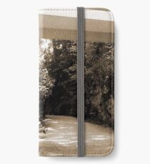 Mill Run, PA: Falling Water iPhone Wallet/Case/Skin