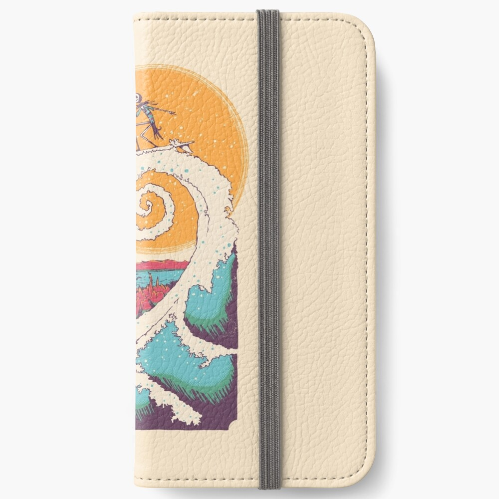 Surf Before Christmas iPhone Wallet