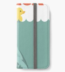 Jaws Rubber Duck 'Quack'  iPhone Wallet/Case/Skin