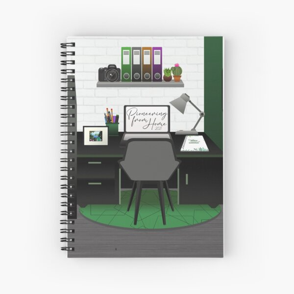 Pioneering From Home Spiral Notebook