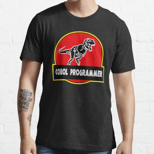 Jurassic COBOL Programmer Dinosaur Essential T-Shirt